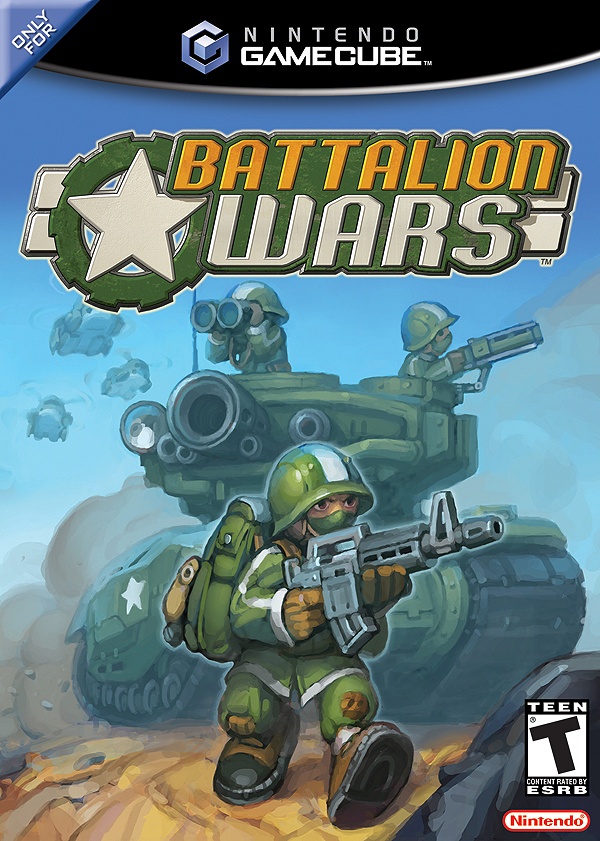Battalion Wars Cover Artwork