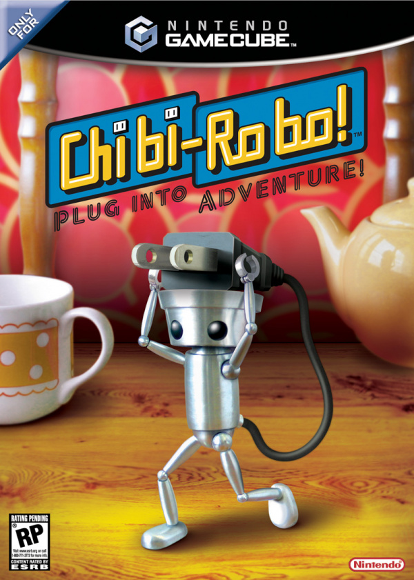 Chibi-Robo Cover Artwork