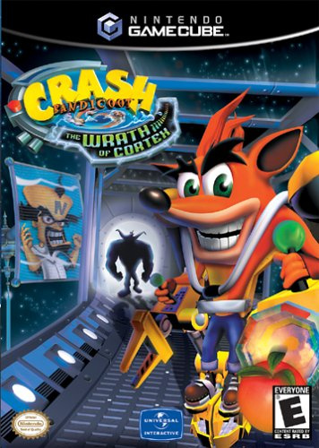 Crash Bandicoot: The Wrath of Cortex Cover Artwork