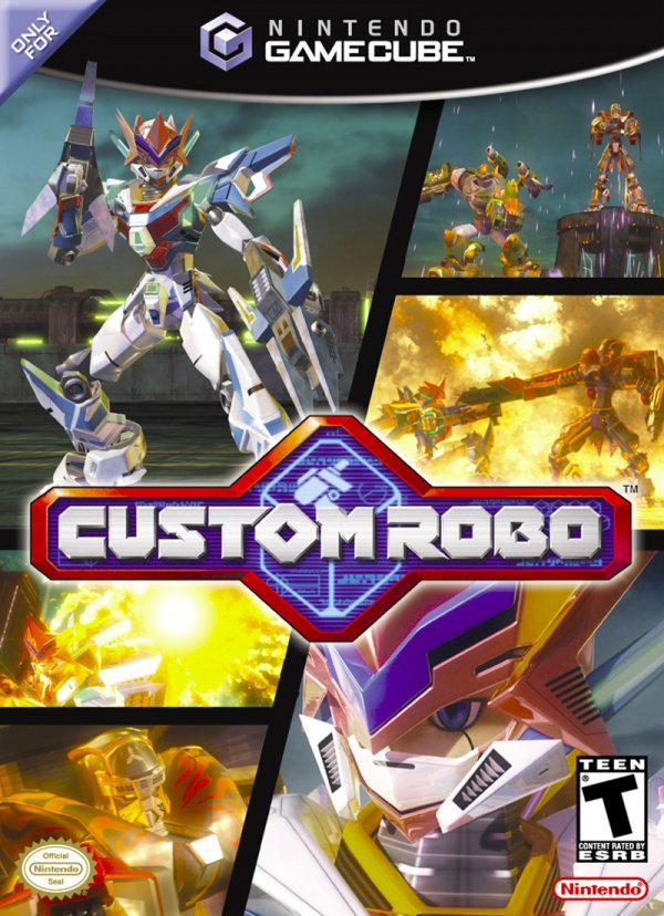 Custom Robo Cover Artwork