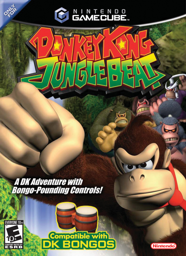 Donkey Kong Jungle Beat Cover Artwork