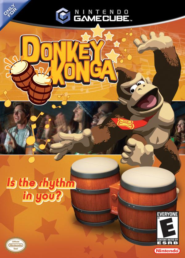 Donkey Konga Cover Artwork