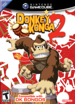Donkey Konga 2: Hit Song Parade Cover (Click to enlarge)