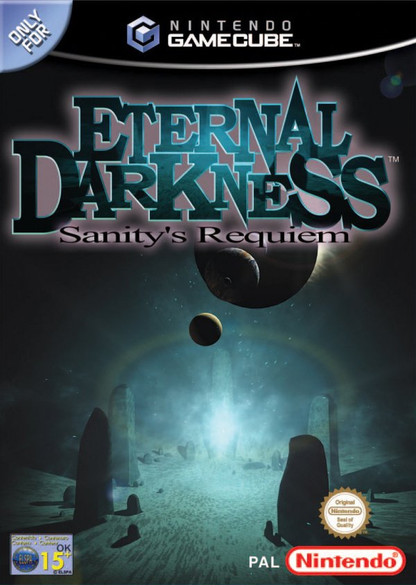 Eternal Darkness: Sanity's Requiem Cover Artwork