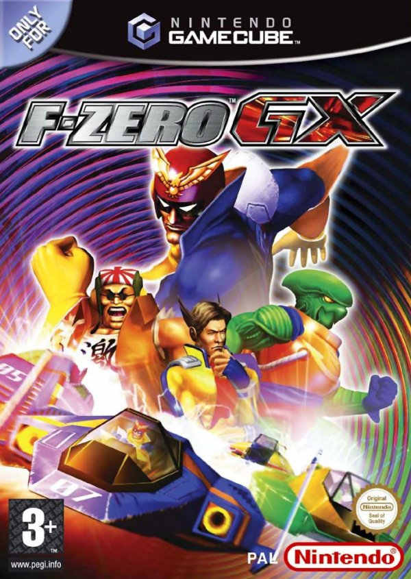 F-Zero GX Cover Artwork