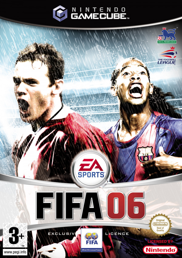 FIFA 06 Cover Artwork