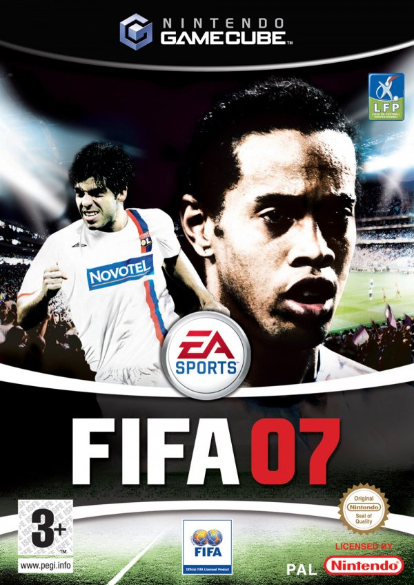 FIFA 07 Cover Artwork