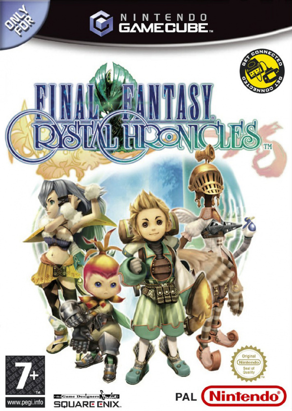Final Fantasy: Crystal Chronicles Cover Artwork