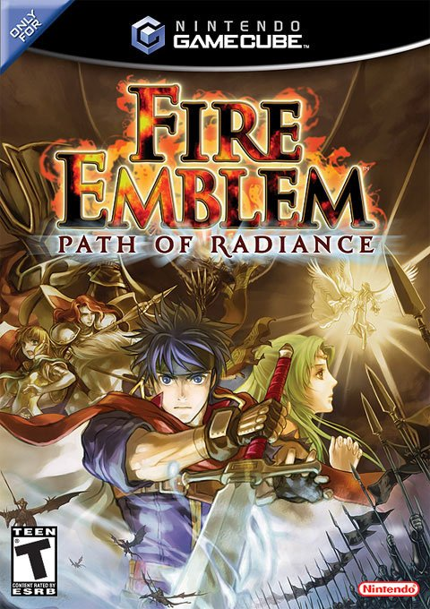 Fire Emblem: Path of Radiance Cover Artwork