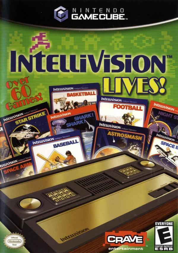 Intellivision Lives! Cover Artwork