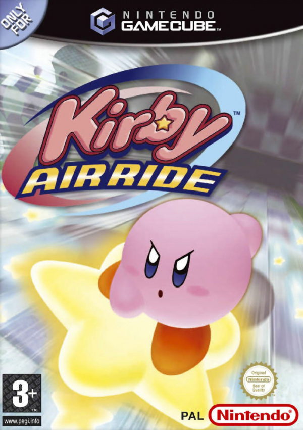 Kirby Air Ride Cover Artwork
