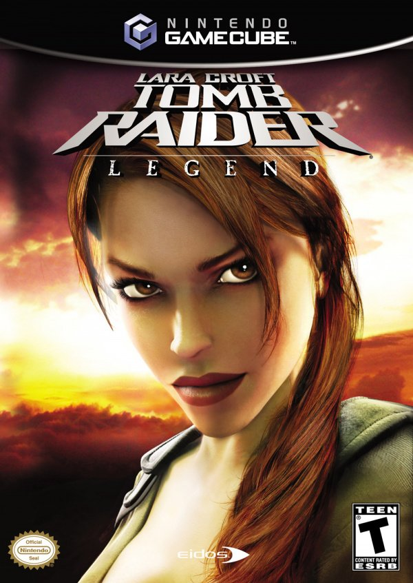 Lara Croft Tomb Raider: Legend Cover Artwork