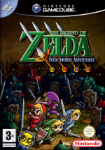 The Legend of Zelda: Four Swords Adventures Cover (Click to enlarge)