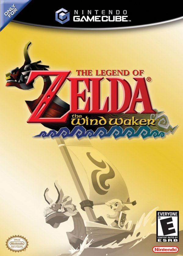 The Legend of Zelda: The Wind Waker Cover Artwork
