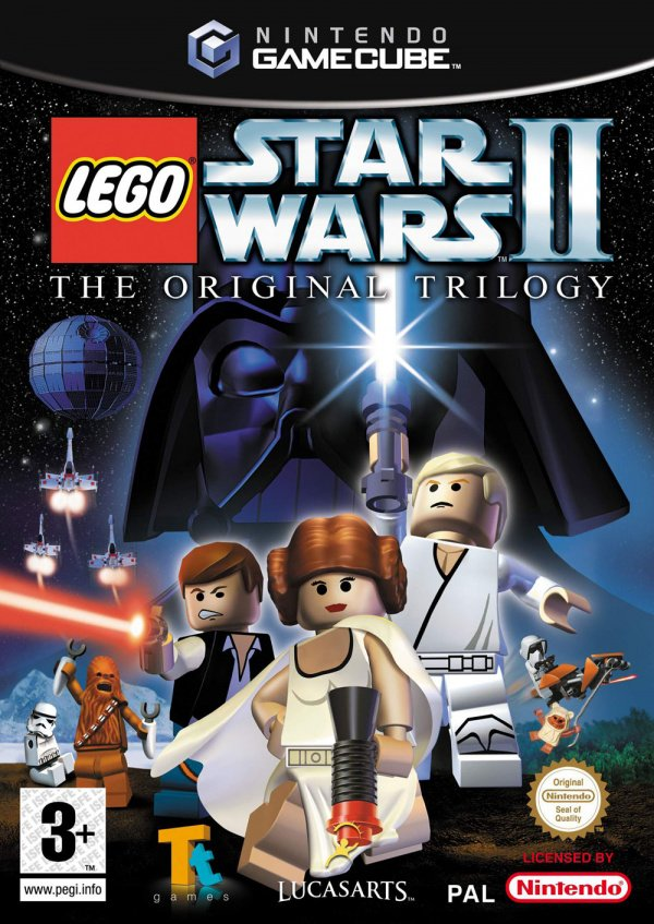 LEGO Star Wars II: The Original Trilogy Cover Artwork