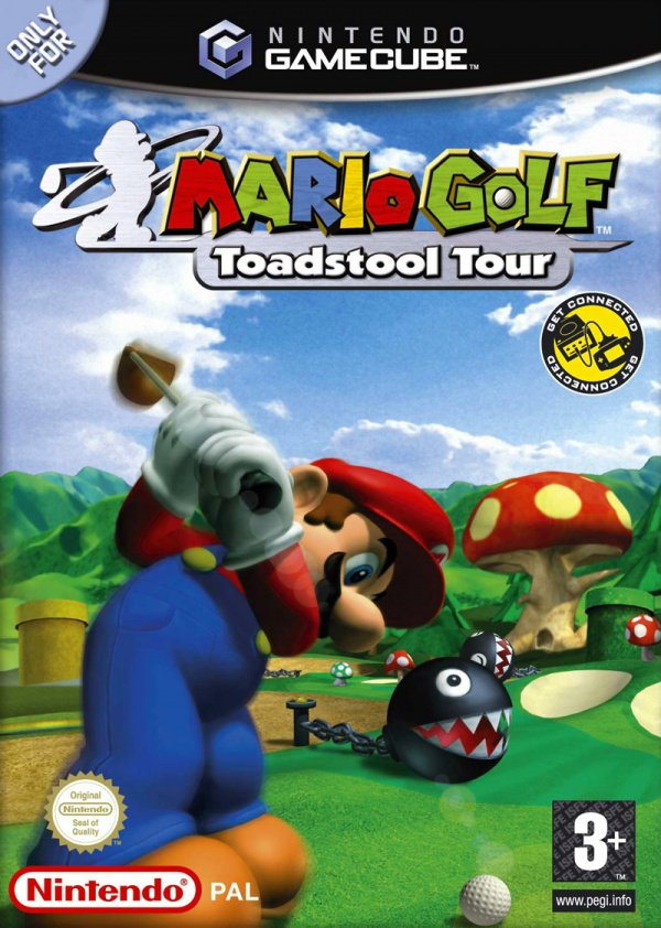 Mario Golf: Toadstool Tour Cover Artwork