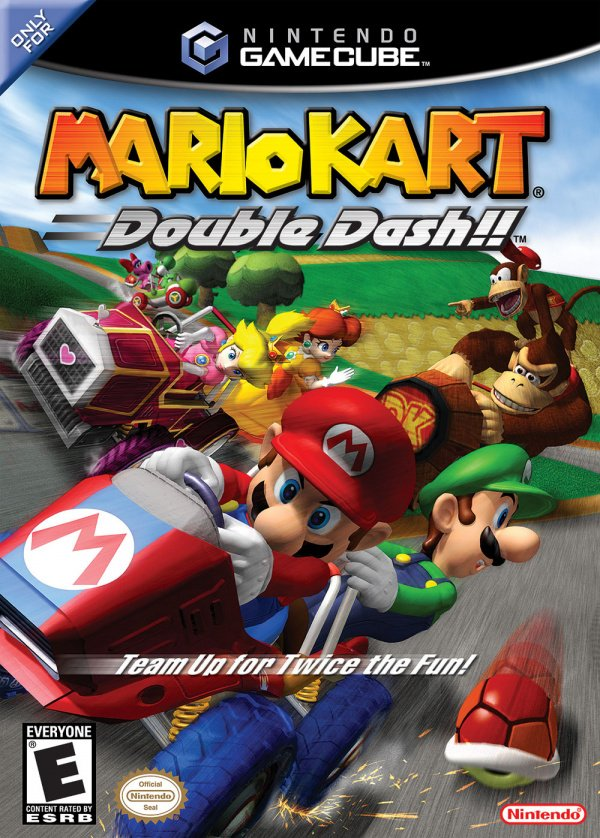 Mario Kart: Double Dash!! Cover Artwork