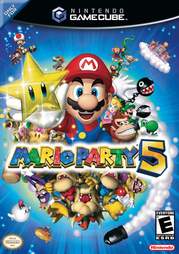 Mario Party 5 Cover Artwork