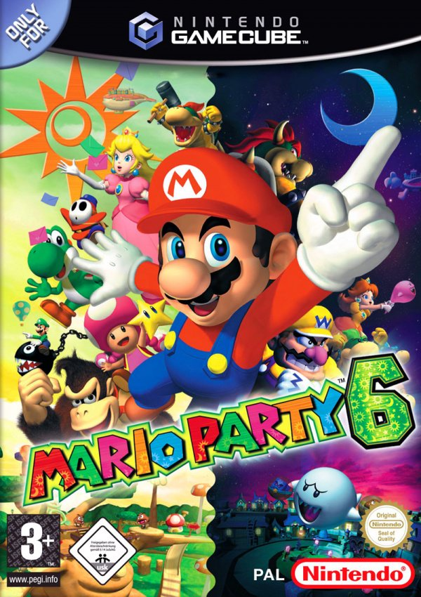 Mario Party 6 Cover Artwork