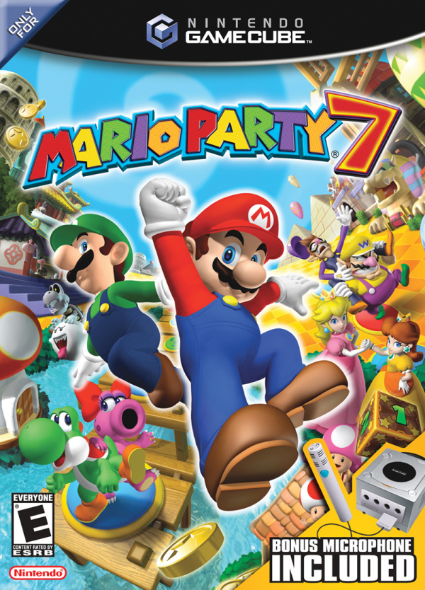 Mario Party 7 Cover Artwork