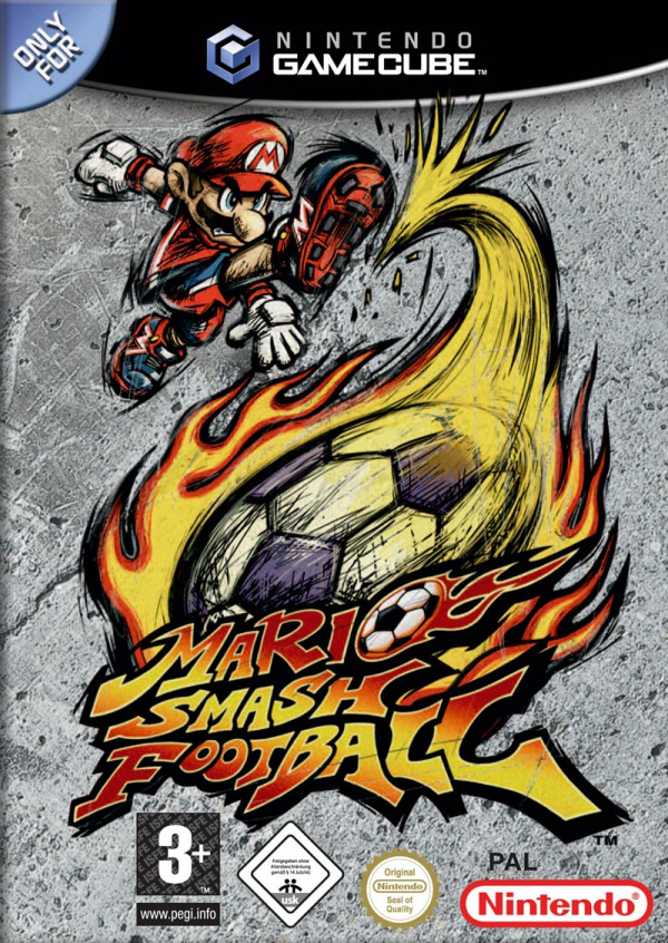 Mario Smash Football Cover Artwork