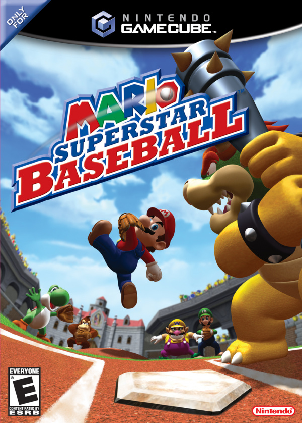 Mario Superstar Baseball Cover Artwork