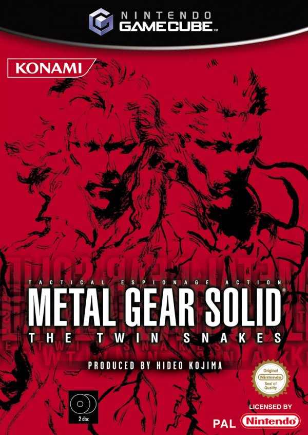 Metal Gear Solid: The Twin Snakes Cover Artwork