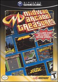Midway Arcade Treasures Cover Artwork