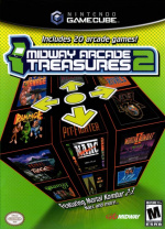 Midway Arcade Treasures 2 Cover (Click to enlarge)