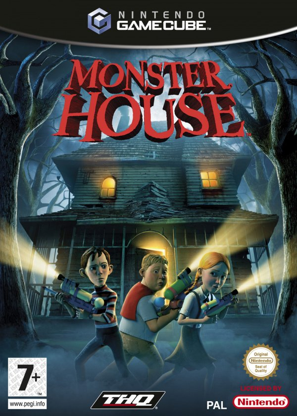 Monster House Cover Artwork