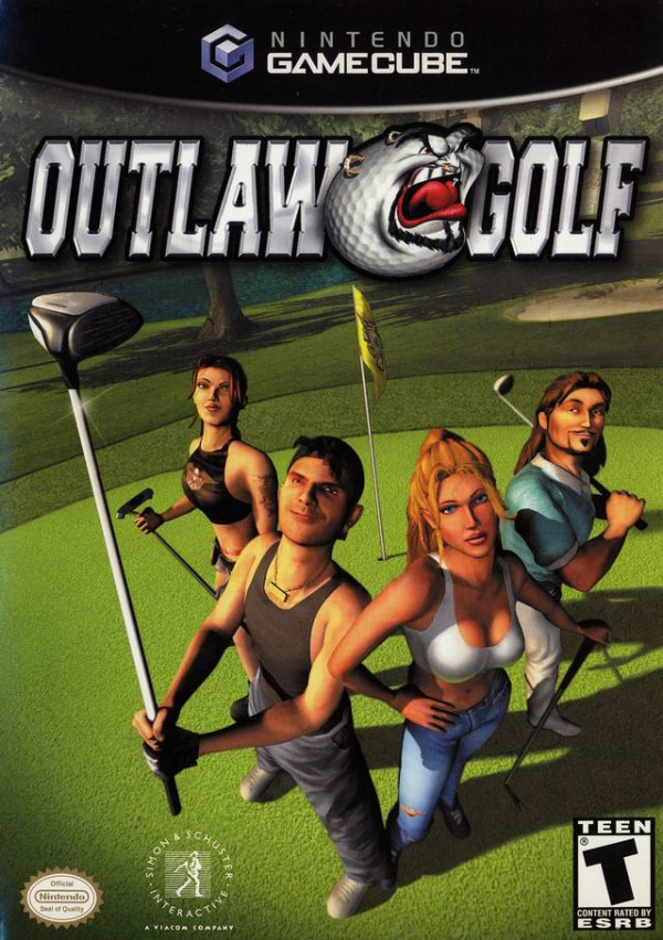 Outlaw Golf Cover Artwork