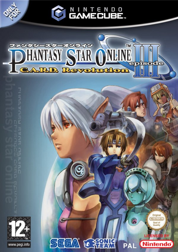 Phantasy Star Online Episode III: C.A.R.D. Revolution Cover Artwork