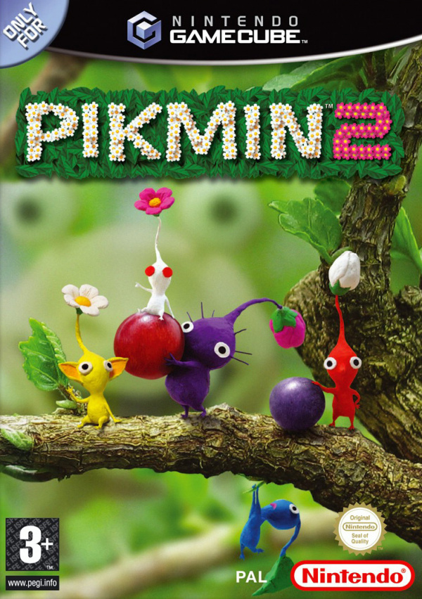 Pikmin 2 Cover Artwork