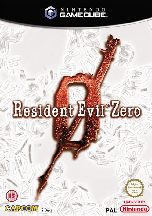 Resident Evil 0 Cover Artwork