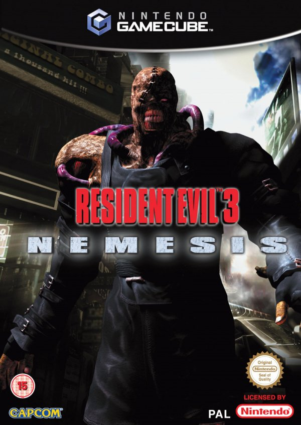 Resident Evil 3: Nemesis Cover Artwork