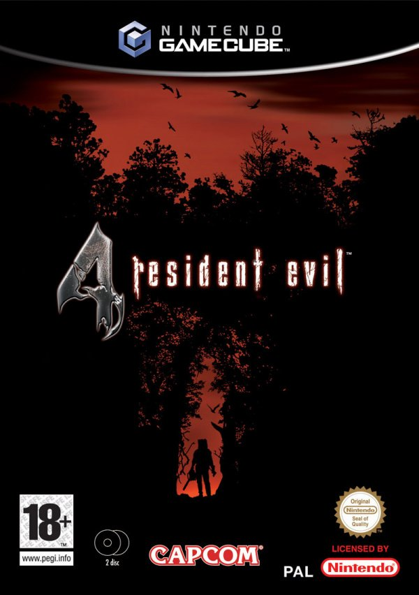 Resident Evil 4 Cover Artwork