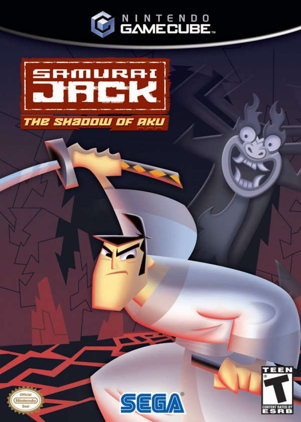 Samurai Jack: The Shadow of Aku Cover Artwork