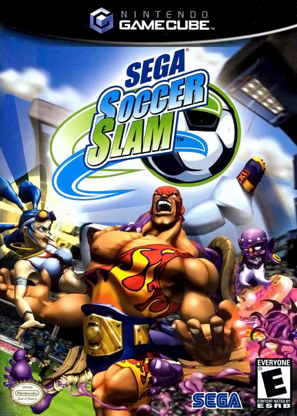 Sega Soccer Slam Cover Artwork