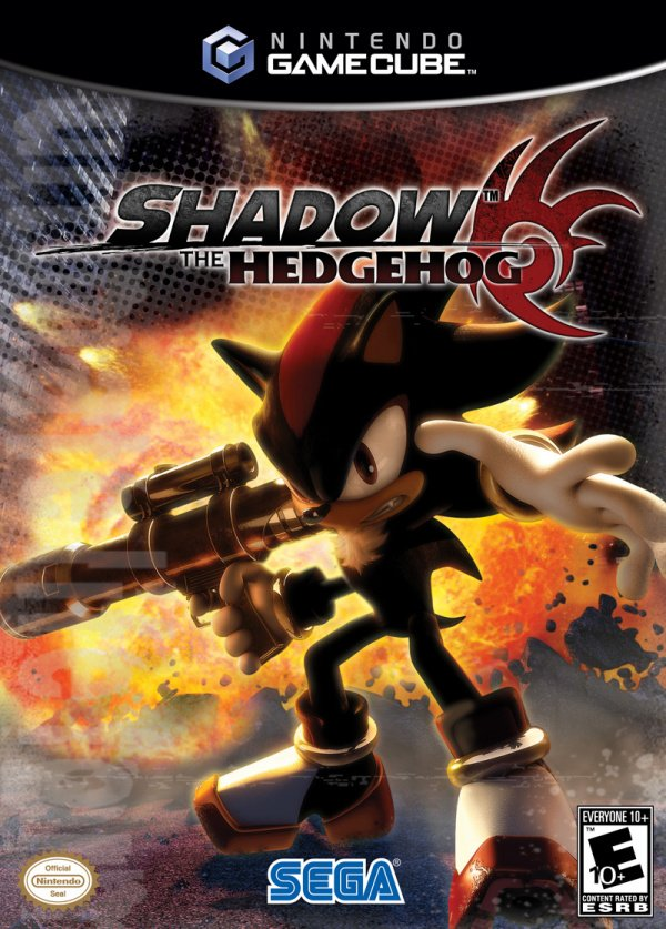 Shadow The Hedgehog Cover Artwork