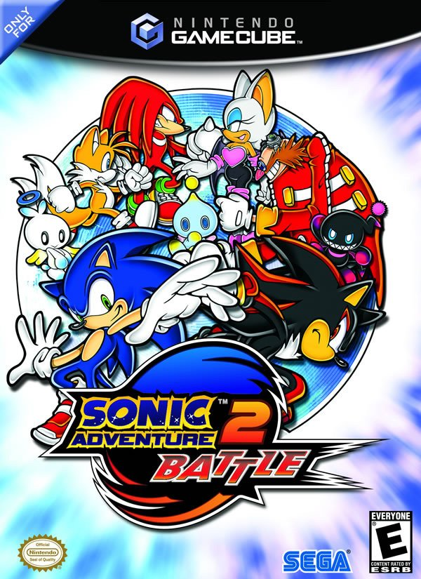 Sonic Adventure 2: Battle Cover Artwork