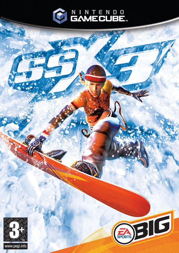 SSX 3 Cover Artwork