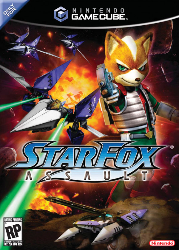 Star Fox: Assault Cover Artwork