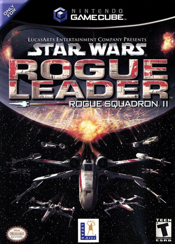 Star Wars Rogue Squadron II: Rogue Leader Cover Artwork