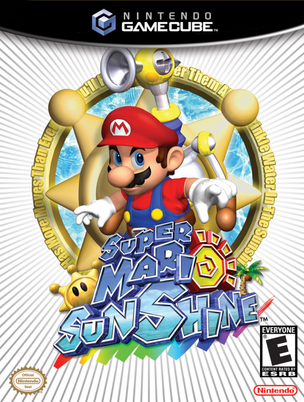 Super Mario Sunshine Cover Artwork
