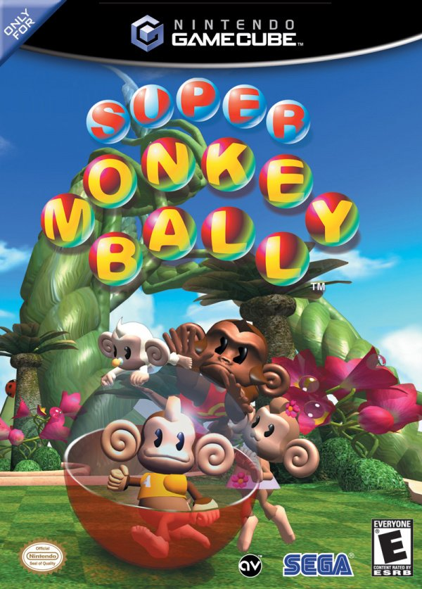 Super Monkey Ball Cover Artwork