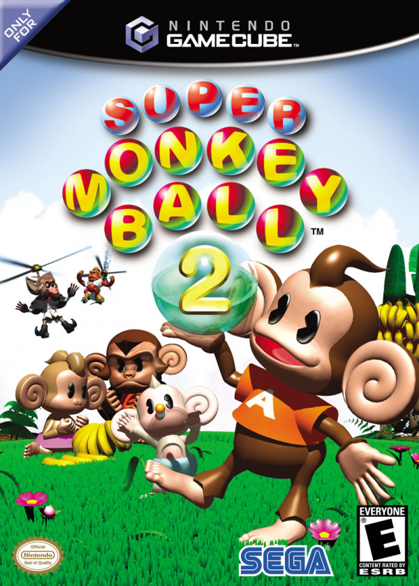 Super Monkey Ball 2 Cover Artwork