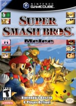 Super Smash Bros. Melee Cover (Click to enlarge)