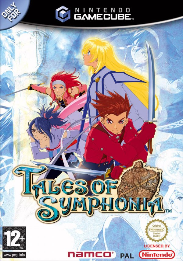 Tales of Symphonia Cover Artwork