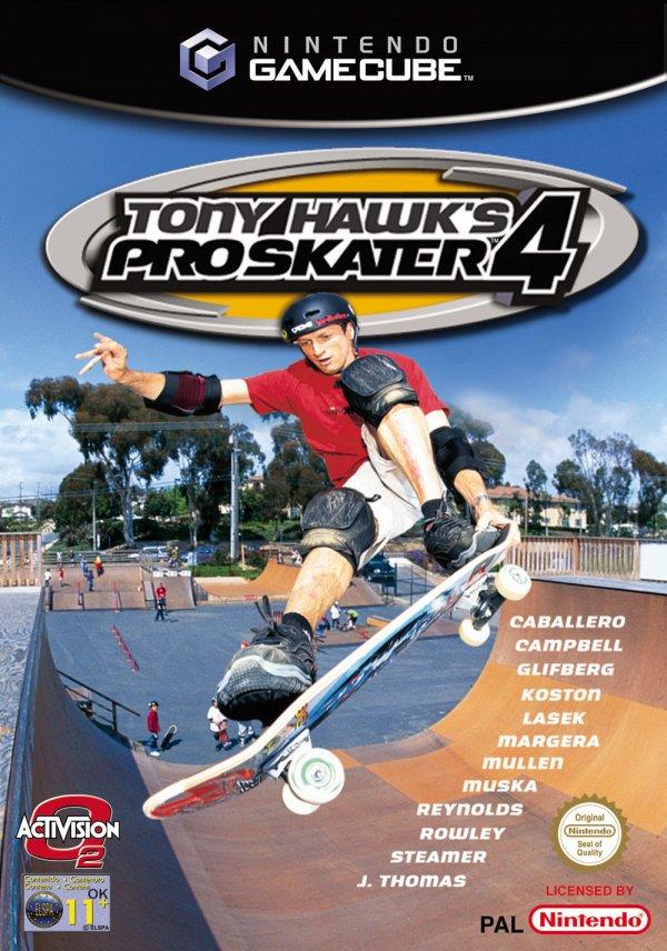 Tony Hawk's Pro Skater 4 Cover Artwork