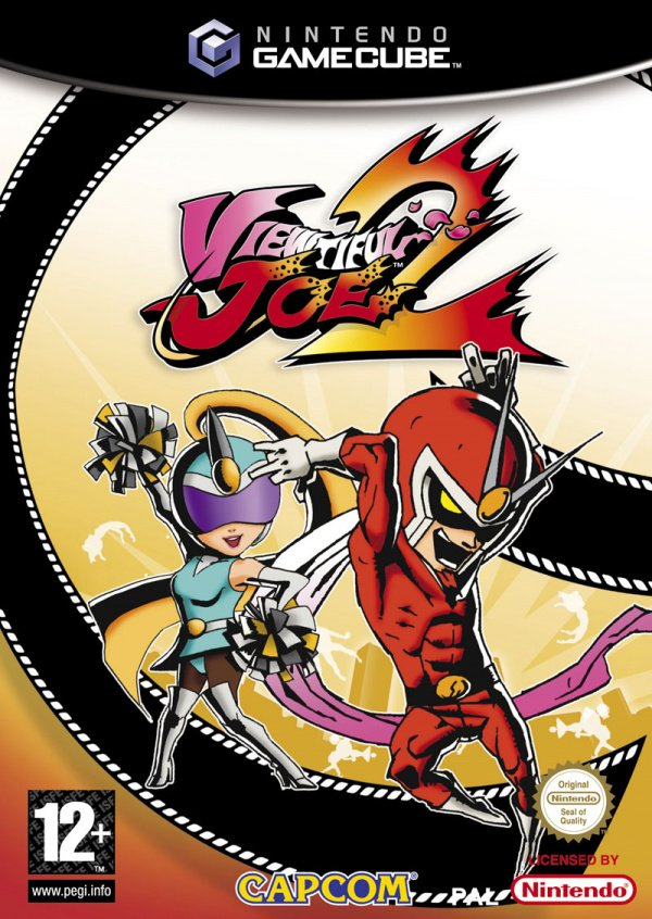 Viewtiful Joe 2 Cover Artwork